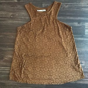 2/$20 Maurices Suede Cut-Out Tank
